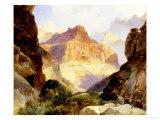 Under the Red Wall, Grand Canyon of Arizona, 1917 Giclée-Druck von Thomas Moran