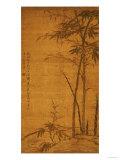 Green Bamboo in the Sheong Gu (Fine Outline) Style, 1319 Giclee-trykk av Li Kan