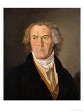 Portrait of Ludwig Van Beethoven (1770-1827) Giclee Print by Ferdinand Georg Waldmuller