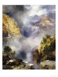Mist in the Canyon, 1914 Giclée-Druck von Thomas Moran