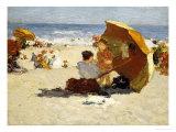 Late Afternoon, Coney Island Giclée-Druck von Edward Henry Potthast