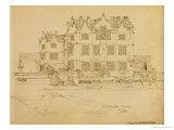 Somerset, Montacute House, 1895 Giclée-Druck von Charles Rennie Mackintosh