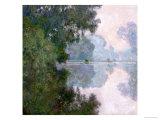 Morning on the Seine, Near Giverny, 1896 Giclée-Druck von Claude Monet
