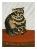 Le Chat Tigre Giclee-trykk av Henri Rousseau