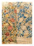 Design for Chintz: Rose Giclée-tryk af William Morris