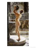 The Bath Giclee Print by John Reinhard Weguelin