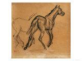 Horses, circa 1882 Giclée-tryk af Edgar Degas