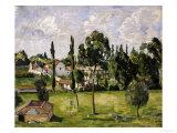 Paysage Avec Conduite d'Eau, circa 1879 Giclee Print by Paul Cézanne