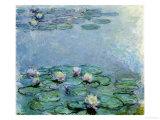 Water Lilies, Nympheas Reproduction procédé giclée par Claude Monet