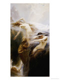 The Mountain Mists Giclee Print by Herbert James Draper