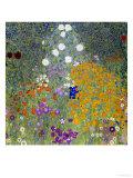 Flower Garden, 1905-07 Giclée-tryk af Gustav Klimt