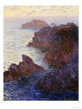 Rocky Point at Port-Goulphar Giclée-Druck von Claude Monet