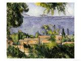 The Rooftops of l'Estaque, 1883-85 Lámina giclée por Paul Cézanne