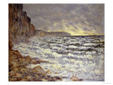 Seafront, Fecamp, 1881 Giclée-Druck von Claude Monet
