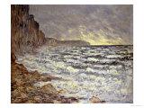 Seafront, Fecamp, 1881 Impressão giclée por Claude Monet