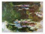 Lily Pond, 1881 Giclée-Druck von Claude Monet