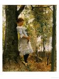 In the Woods Giclée-tryk af Amelie Lundahl