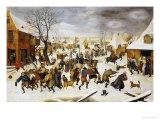 The Massacre of the Innocents Reproduction procédé giclée par Pieter Bruegel the Elder