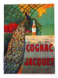 Cognac Jacquet, circa 1930 Reproduction procédé giclée par Camille Bouchet