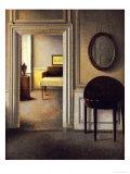 The Music Room, 30 Strandgade, circa 1907 Giclée-tryk af Vilhelm Hammershoi