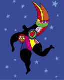 Half Woman, Half Angel Poster par Niki De Saint Phalle
