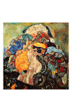 Baby Gicléedruk van Gustav Klimt