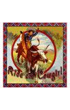 Cowgirl Roper Giclee Print