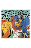 Muziek Gicléedruk van Henri Matisse