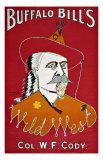 Wild West Buffalo Bill Giclee Print