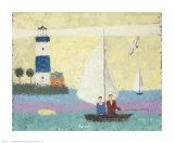 Fishing Prints by Gia Revazi