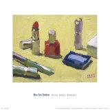 Blue Eye Shadow Prints by Peggi Kroll-roberts