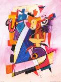 Pick up the Beat Poster von Alfred Gockel