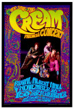 Cream Farewell Concert Poster by Bob Masse