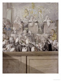 Term Time or the Lawyers All Alive in Westminster Hall Giclee Print by Robert Dighton