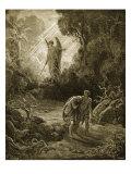 Adam og Eva Giclee-trykk av Gustave Doré