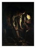 St. Joseph the Carpenter Giclee Print by Georges de La Tour