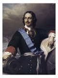 Peter the Great Lámina giclée por Paul Delaroche