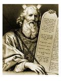 Moses with the Renewed Tablets Giclée-vedos tekijänä Philippe De Champaigne