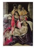Lamentation over Dead Christ (Poldi Pezzoli Pieta) Lámina giclée por Botticelli, Sandro