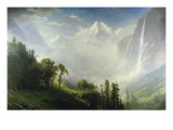 Majesty of the Mountains Giclée-tryk af Albert Bierstadt