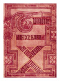 Book of Kells: T Letters Giclée-tryk