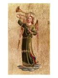 Angel with Trumpet Giclée-vedos tekijänä  Fra Angelico