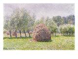 Haystack Giclée-Druck von Claude Monet