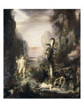 Hercules and the Hydra Giclee Print by Gustave Moreau