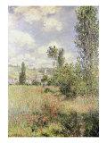 Path in Ile Saint Martin, Vetheuil Giclee-trykk av Claude Monet