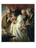 The Four Evangelists Giclee-trykk av Jacob Jordaens