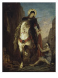 St. Martin Giclee Print by Gustave Moreau