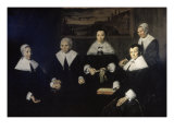 Women Regents of the Haarlem Almshouse Giclee Print by Frans Hals