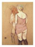 Rue de Moulins: The Medical Inspection Lámina giclée por Henri de Toulouse-Lautrec