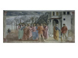 Payment of Tribute Giclée-tryk af Masaccio,